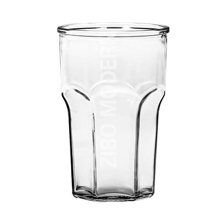 180Z Colorful Big Glass Beverage Drinking Tumblers