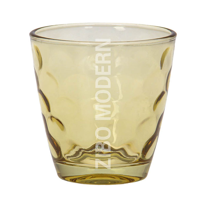 9oz Colored Whiskey Drinking Glasses
