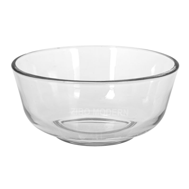 4 Inch Clear Glass Cereal Bowl Soup Bowl 10 OZ - Glass Dinnerware